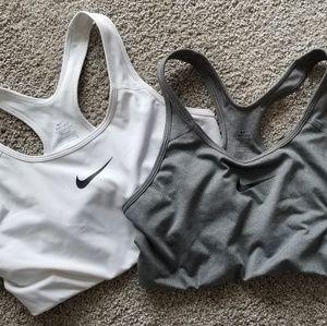 Large Nike sports bras!